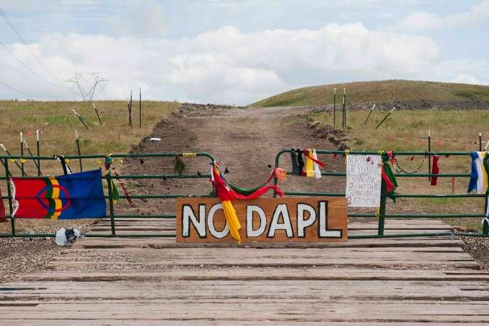 L'oléoduc de la compagnie Energy Transfer Partners doit acheminer le pétrole extrait dans le Dakota du Nord, à la frontière canadienne, jusque dans l'Illinois.