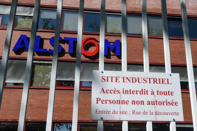 Sur le site d'Alstom de Belfort, le 7 septembre.