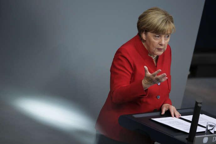 La chancelière allemande, Angela Merkel, craint des attaques provenant de Russie, au cours des élections législatives de 2017.