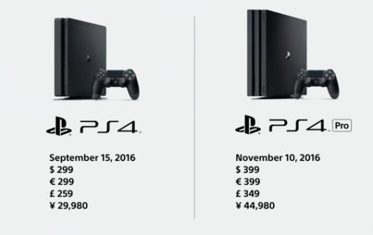 Une version« slim» de la PS4 est annoncée pour le 15 septembre. La PS4 Pro, bien plus puissante, est prévue pour le 10 novembre.