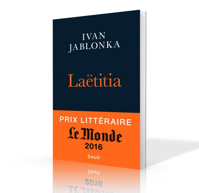La couverture du livre d'Ivan Jablonka,« Laëtitia».