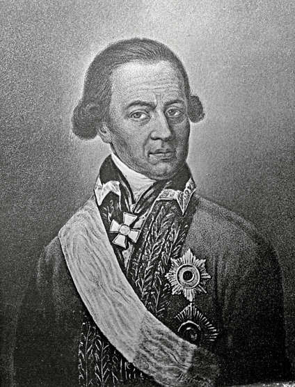 Abraham Petrovitch Hanibal (1696-1781) aurait été enlevé à 7 ans par des marchands d'esclaves lorsqu'il se baignait dans le fleuve. Adopté par Pierre le Grand, il deviendra mathématicien et général en chef des armées.