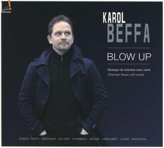 Pochette de l'album« Blow Up», recueil de compositions de Karol Beffa.