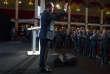 François Hollande intervient devant la Fondation Jean Jaurès, dans la salle Wagram, à Paris, jeudi 8 septembre.