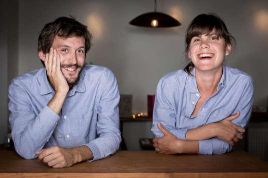 Hugo Hivernat et Sophie Cornibert.