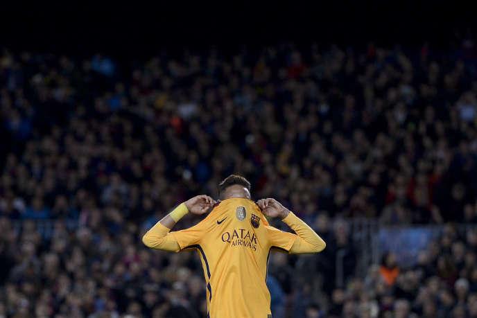 Neymar, en avril.
