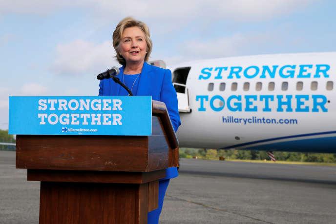 Hillary Clinton le 8 septembre 2016.