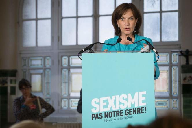La ministre des droits des femmes Laurence Rossignol, le 8 septembre à Paris.