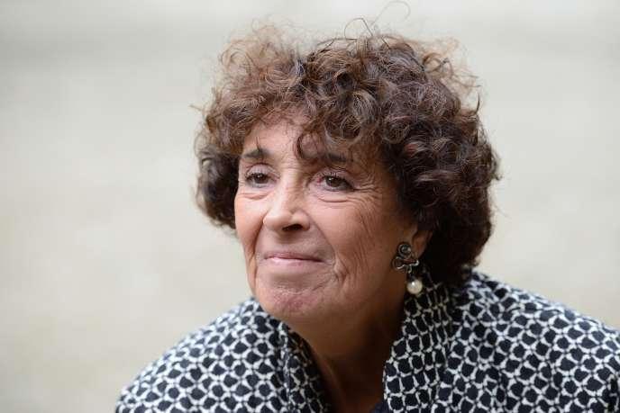 Françoise Rudetzki, fondatrice de SOS Attentats, à Paris, le 19 septembre 2013.