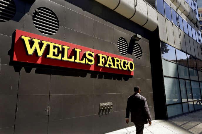Une agence de Wells Fargo à Oakland (Californie).