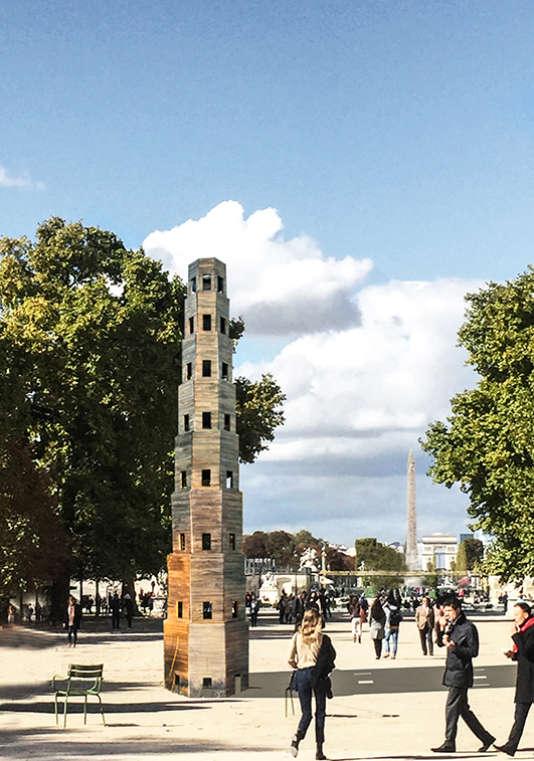 En octobre, «Deci», de Sofia von Ellrichshausen et Mauricio Pezo sera présenté à la FIAC de Paris.