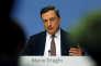 Le président de la BCE, Mario Draghi, en conférence de presse à Francfort, le 28septembre.