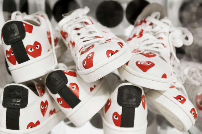 Les baskets de la gamme Play pour Converse.