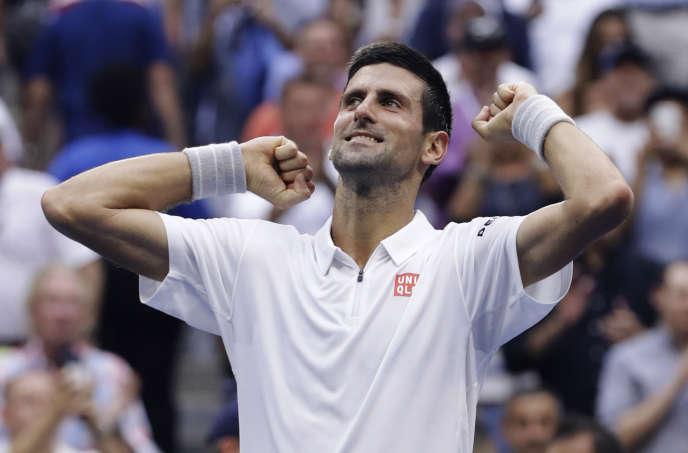 Novak Djokovic s'est qualifié pour la finale de l'US Open, vendredi 9 septembre 2016.