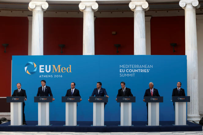 La déclaration d'Athènes, adoptée par les pays du sud de l'Union européenne (Grèce, France, Italie, Portugal, Espagne, Chypre et Malte) évite soigneusement d'évoquer le pacte de stabilité qui régit l'orthodoxie budgétaire en Europe, mais c'est bien un assouplissement de ces règles qui est demandé.