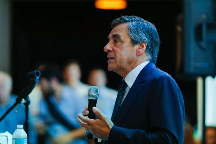 Francois Fillon le 8 septembre à New York.