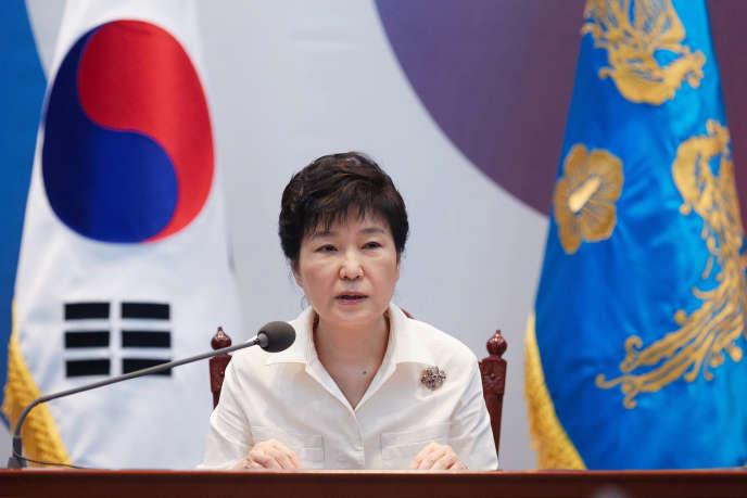 La présidente sud-coréenne, Park Geun-Hye.
