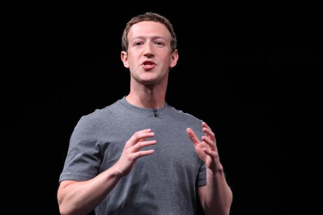 «M. Zuckerberg a soutenu que son entreprise était d'abord une société de technologie et non un éditeur de contenus. C'est faux» (Photo:Mark Zuckerberg, le 21 février).