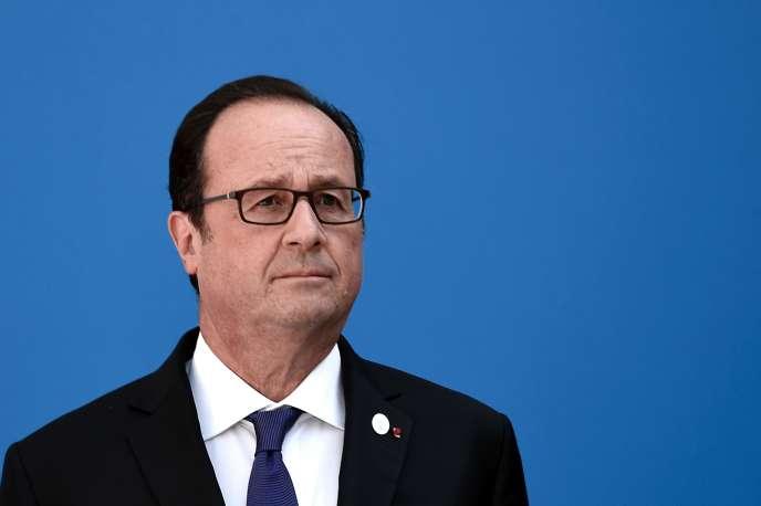 Francois Hollande, le 9 septembre 2016.