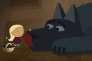 Une image extraite du programme de six courts-métrages d'animation, «Promenons-nous avec les petits loups».