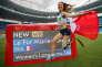 Marie-Amélie Le Fur fête sa médaille d'or de saut en longueur aux Jeux paralympiques de Rio,vendredi 9 septembre.