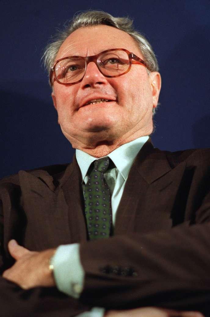 Jacques Dominati, en 1992.
