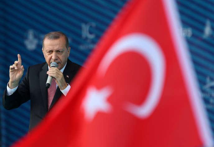 Le président turc Tayyip Erdogan à Istanbul le 26 août 2016.
