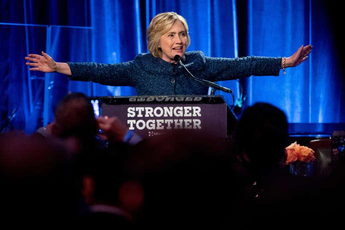 Hillary Clinton à New York, le 9 septembre 2016.