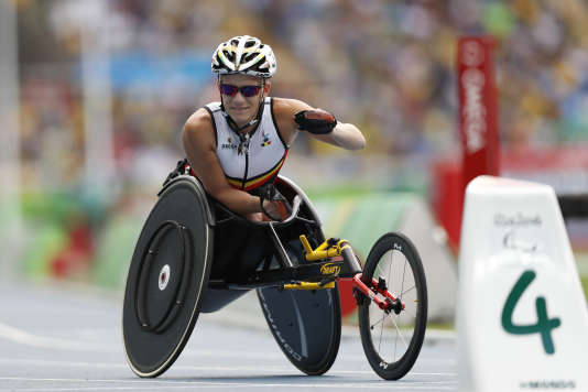 Marieke Vervoot à Rio le 10 septembre.