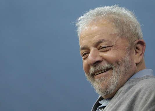 Luiz Inacio Lula da Silva à Sao Paulo, le 9 septembre.