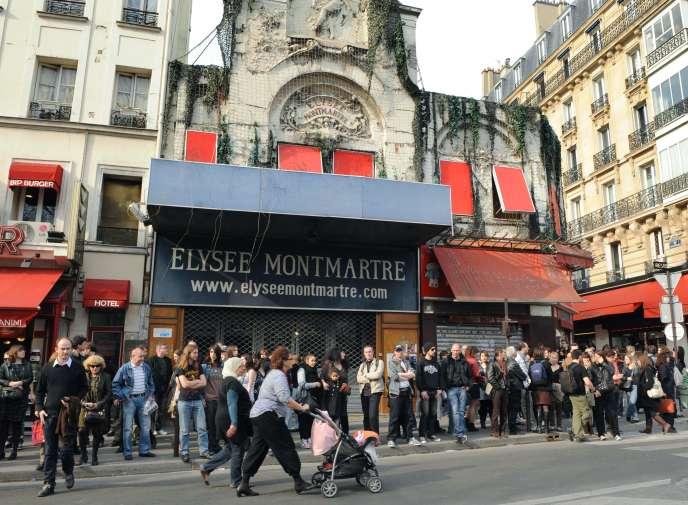 L'Elysée-Montmartre à Paris, le 26 mars 2011.