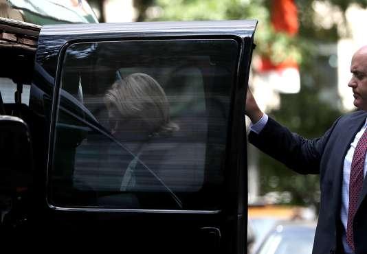Hillary Clinton à New York, le 11 septembre.