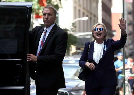 Hillary Clinton, le 11 septembre 2016 à New York.