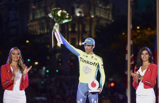 Auparavant chez Tinkoff, le cycliste espagnol Alberto Contador va signer chezTrek-Segafredo.