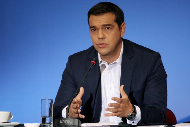 Alexis Tsipras le 11 septembre 2016.