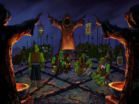 «Warcraft Adventures : Lord of the Clans»: une des expérimentations de Blizzard, en partenariat avec le studio d'animation russo-américain Animation Magicdans les années 1990.
