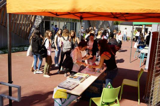 Journée d'intégration à l'université Paris-Sud.