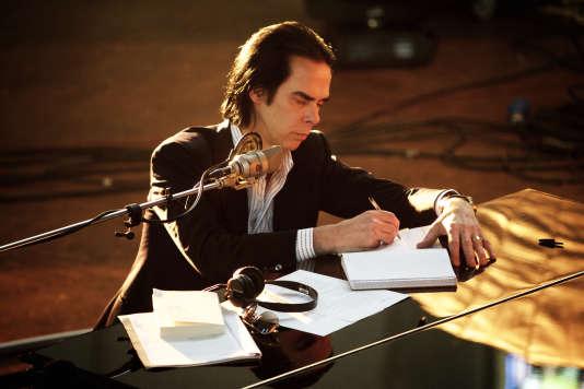 Le chanteur Nick Cave.