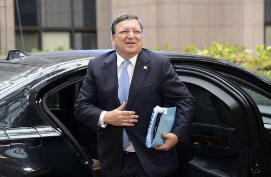 L'ancien président de la Commission européenne, José Manuel Barroso, en 2014 à Bruxelles.