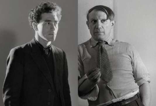 Alberto Giacometti et Pablo Picasso.