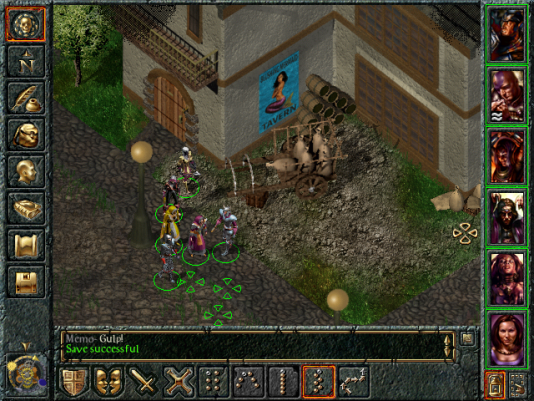 « Baldur's Gate », né en 1998 dans le giron d'Interplay.