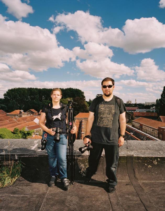 Cécile et Carlos pratiquent l'exploration urbaine depuis une quinzaine d'années.
