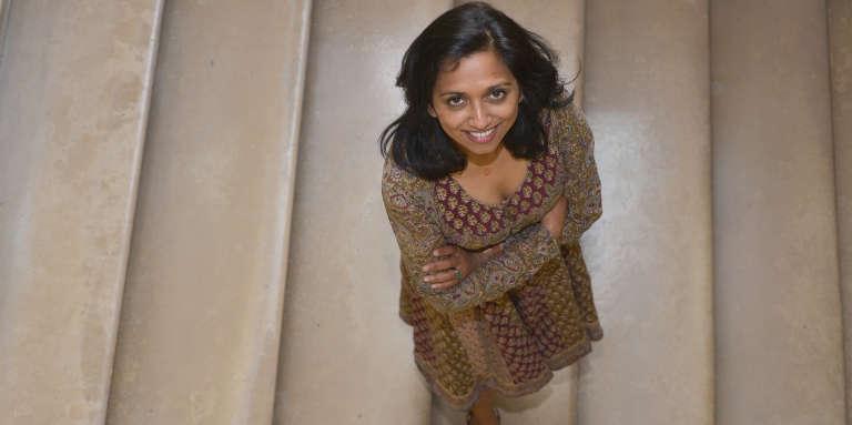 Nathacha Appanah, en août 2016 à Paris.