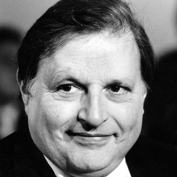 Le critique de cinéma Claude-Jean Philippe en mai 1986.