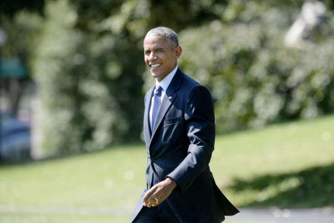 Le président américain a annoncé son intention, jeudi 15 septembre, de créer une réserve marine dans l'Atlantique.