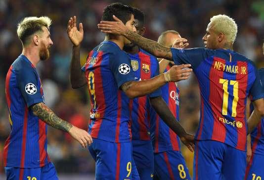 Les Barcelonais ont facilement disposé du Celtic Glasgow (7-0), mardi soir.