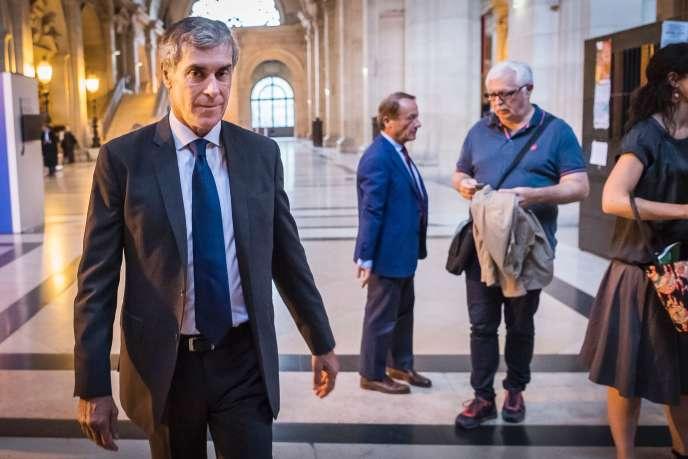 Jérôme Cahuzac au Palais de justice de Paris, le 13 septembre.