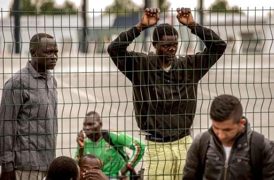 A Calais, le 13 septembre.