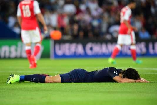 Le PSG d'Edinson Cavani a concédé le nul (1-1) contre Arsenal, mardi 13 septembre, lors du premier match de phase de poules de la Ligue des champions.