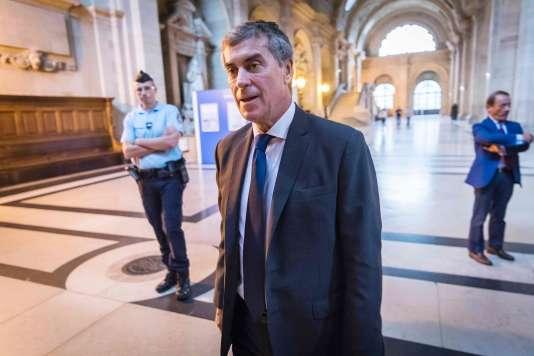 L'ancien ministre du budget Jérôme Cahuzac au tribunal correctionel de Paris le 13 septembre.